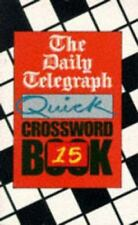 The Daily Telegraph Quick Crossword Book 15