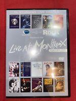 LIVE AT MONTREUX - Classic Rock - 2006 SAMPLER - UK DVD - 15 Live Tracks