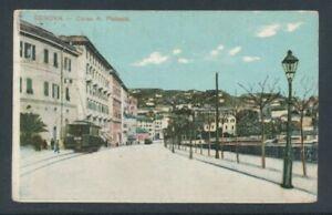 1912, Italien SW11141 Pk Genova Corso A. Podesta, Erh. II-