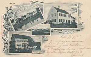 Ansichtskarte Bayern  Fleinhausen  Gasthaus und Brauerei Thomas Finkl etc.
