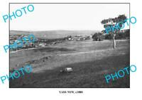 OLD 6x4 PHOTO OF YASS NSW PANORAMIC VIEW c1880