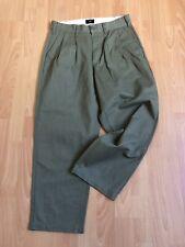 Obey Women's High Waisted Pants green Khaki Leopard Size 30