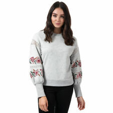 Jdy par Only Sweatshirt pour Dames Jdynaomi Pull Sweat Étoiles Gris Rose