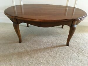 Ethan Allen Country French Coffee Cocktail Table #26-8220 Solid Wood 216 Finish