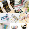 NEW DIY Floral Dream Washi Sticker Decor Roll Paper Masking Adhesive Tape Crafts