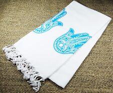 Morganicsbeauty Turkish Hammam Bamboo Peshtemal, Beach Towel Hands 90x170cm