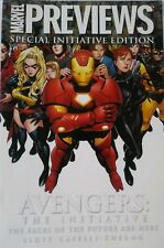 Avengers The Initiative Marvel preview Edition of crossover issues post Civil Wa