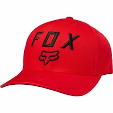 Fox Racing Cap Hat Legacy Moth 110 Snapback Hat Red OS 20762 in stock