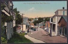 Circa 1907-15 Vintage Postcard Main Street looking West BEAR RIVER, Nova Scotia
