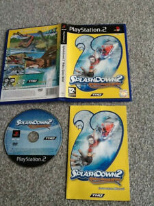 PLAYSTATION 2 GAME_SPLASHDOWN 2 : RIDES GONE WILD + MANUAL