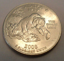 2008-D ALASKA STATEHOOD QUARTER UNCIRCULATED IN CAPSULE *HOLOGRAM *