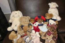 Boyds Bear Lot Of 18 Plush Collectibles  preowned