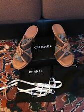 CHANEL Tan Chaussures/Sandales Taille 40