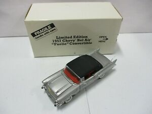 Danbury Mint Limited Edition 1957 Chevy Bel Air Fuelie Convertible Lot 1