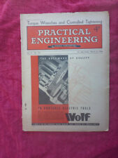 Vintage Practical Engineering Magazine - Torque Wrenches. March 1946