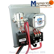 Digital charge controller 24 VOLT with brake switch 4 wind and solar panels