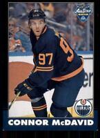 2020-21 UD O-Pee-Chee Retro Black Border 33 Connor McDavid /100 Edmonton Oilers