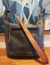 Colorado Leather Shoulder Crossbody Bag