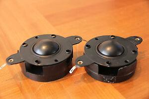 "pr Audax Polydax 1"" polymer dome tweeter replacement diaphragms 4ohm voice coils"