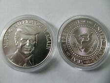 1 - 1 oz .999 Silver Round - Donald Trump - Making America Great Again- BU- New