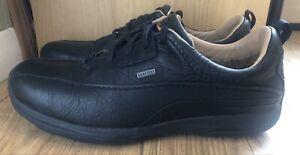 Clarks Mens Black Leather Lace Up Goretex Shoes Active Air - Size 10G