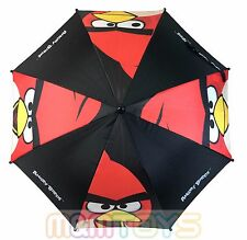 Angry Birds Molded Handle Umbrella for Kids