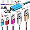 ACALI 1/2/3M Chargeur Magnétique Type C Micro USB Câble de Transfert de Données
