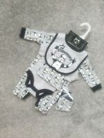 Baby Boy Star Wars Stormtrooper 5 Piece Set Outfit babygrow hat bib vest grey