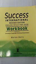 Success International: Workbook: English Skills for IGCSE (Revised edition)