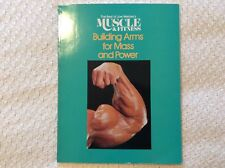 Best of Joe Welder's Muscle and Fitness Building Arms for Mass and Power VG 1983