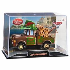Disney Store Cars 2 Die Cast Collector Case Materhosen Mater 1:43 Scale NEW