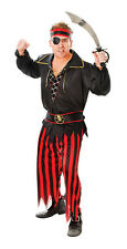 PIRATE MAN COSTUME ADULT FOR FANCY DRESS FOR FUN