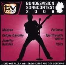 TV Total Bundesvision Songcontest 2008 CD NEU Jennifer Rostock Stefan Raab