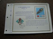 MONACO - document ceres 1er jour 27/4/72 - timbre yvert et tellier n° 882
