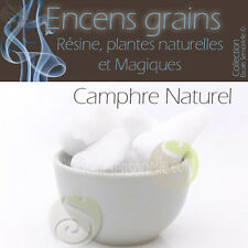 50g à 2kg au choix Camphre naturel Encens grains purificateur assainissant