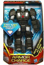 "IRON MAN The Armor Avenger_Armor Charge WAR MACHINE 7"" fig_WALKING ACTION_Hasbro"