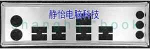 OEM IO SHIELD BLENDE BRACKET for  ASROCK 970M Pro3