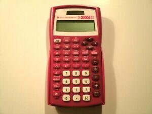 Texas Instruments TI-30X II S Calculator Scientific Pink color