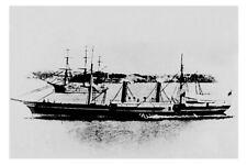 MORPETH - Hunter River New S N Co NSW built 1861 Modern Digital Photo Postcard