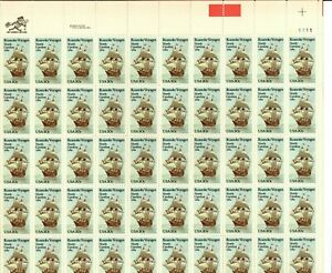 Scott 2093 20¢ Roanoke Voyages MNH Free shipping in USA!