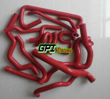RED SILICONE RADIATOR&HEATER HOSE RENAULT 19 16S 1.8L 1988-1997 1989 1990