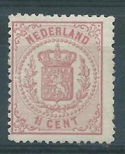 1869TG Nederland Wapenserie NR.16 postfris zegel mooie kleur zie foto's!