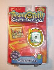 New Tamagotchi Connection Version 3 Yellow With Purple Dots Factory Sealed