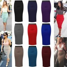 Straight & Pencil Purple Skirts for Women