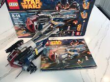 LEGO Star Wars 75046 Coruscant Police Gunship, Opened, No Minfigs