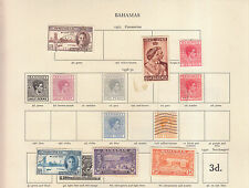 Used George VI (1936-1952) Bahamian Stamps