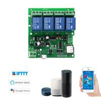 Sonoff Smart Remote Control Wireless Switch Universal Module 4ch DC 5V 12V F4Z9