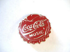 PINS COCA COLA CAPSULE MUSIC