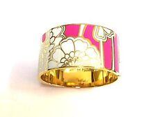 Kate Spade In Full Bloom Hinged Bracelet NWT Florence Broadhurst Collection PINK