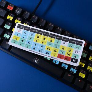 Adobe Premiere Pro Universal Keyboard Shortcut Sticker Decals